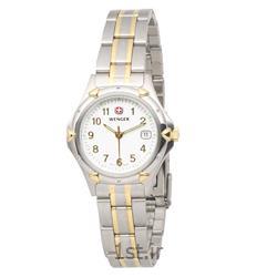 عکس ساعت مچیساعت مچی بند استیل زنانه ونگر سوئیس (Wenger) مدل ۷۹۱۶۹