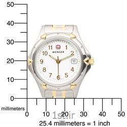 ساعت مچی بند استیل زنانه ونگر سوئیس (Wenger) مدل ۷۹۱۶۹