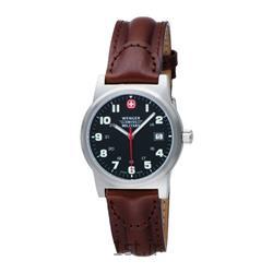 عکس ساعت مچیساعت مچی بند چرم مردانه ونگر (Wenger) مدل ۷۲۹۱۷، ساخت سوئیس