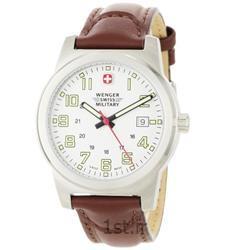 عکس ساعت مچیساعت مچی بند چرم مردانه ونگر (Wenger) مدل ۷۲۹۰۰، ساخت سوئیس