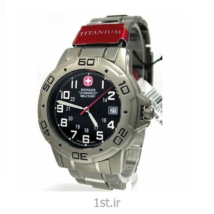 ساعت مچی بند تیتانیوم مردانه ونگر (Wenger) مدل ۷۹۰۳۶، ساخت سوئیس