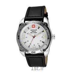عکس ساعت مچیساعت مچی بند چرم مردانه ونگر (Wenger) مدل ۷۹۰۱۱، ساخت سوئیس