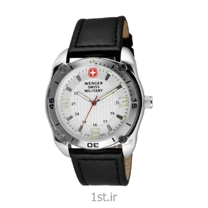 ساعت مچی بند چرم مردانه ونگر (Wenger) مدل ۷۹۰۱۱، ساخت سوئیس