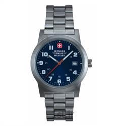 عکس ساعت مچیساعت مچی بند استیل مردانه ونگر (Wenger) مدل ۷۲۹۰۸، ساخت سوئیس