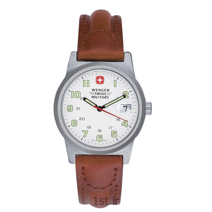 ساعت کلاسیک زنانه بند چرم ونگر (Wenger) مدل ۷۲۹۲۰، ساخت سوئیس