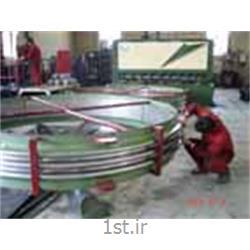 عکس قطعات و اتصالات لوله کشیاتصالات آکاردئونی گرد / لرزه گیر آکاردئونی فلزی
