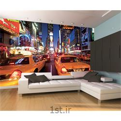 کاغذ دیواری 4 تکه 1 وال Giant مدل NewyorkB006