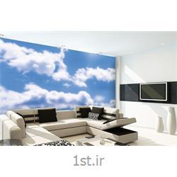 کاغذ دیواری 4 تکه 1 وال Giant مدل Clouds001