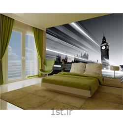 کاغذ دیواری 4 تکه 1 وال Giant مدل London-003