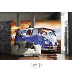 کاغذ دیواری 4 تکه 1 وال Giant مدل VW001