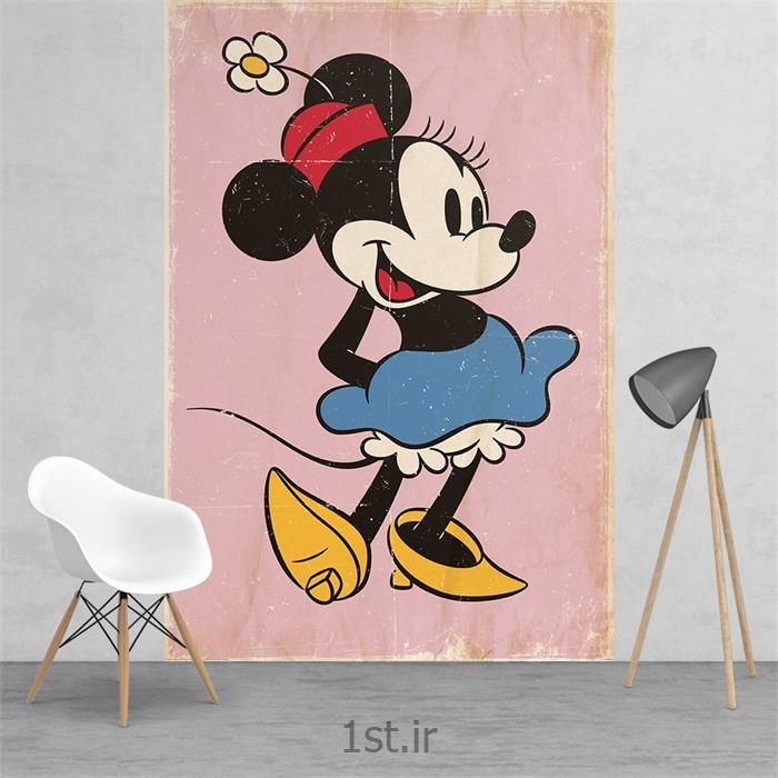 کاغذ دیواری 2 تکه وان وال Deco مدل Minnie