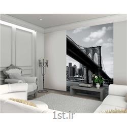 کاغذ دیواری 2 تکه وان وال Deco مدل Newyork-008