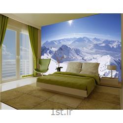 کاغذ دیواری 4 تکه 1 وال Giant مدل Mountain002