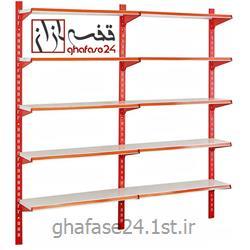 عکس قفسه های فروشگاهیقفسه فروشگاهی مدل دیواری قفسه سازان