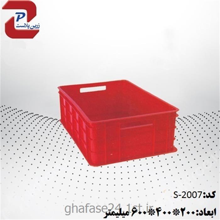 سبد صنعتی پلاستیکی مدل 2007 S درابعاد:200*400*600میلیمتر