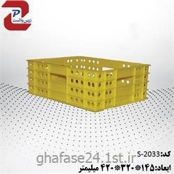 سبد صنعتی پلاستیکی مدل 2033 S درابعاد:145*320*420میلیمتر