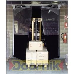 عکس دربدرب صنعتی دو لنگه شفاف درنیک