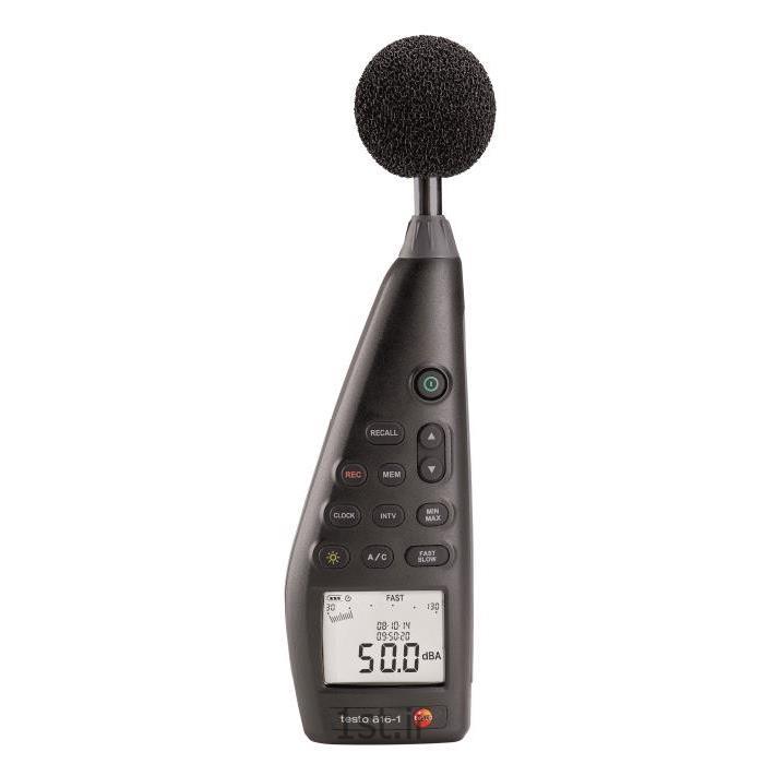 دستگاه سنجش شدت صدا تستو مدل testo 816