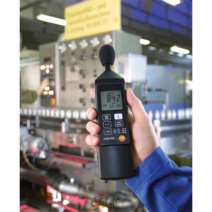 دستگاه سنجش شدت صدا تستو مدل testo 815