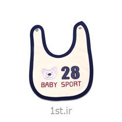عکس لباس زیر نوزادپیشبند طرح اسپرت نوزادی
