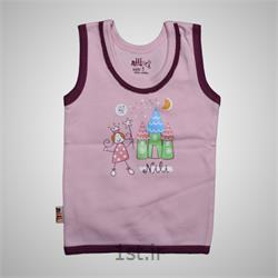 لباس نوزاد نیلی رکابی طرح پرنس