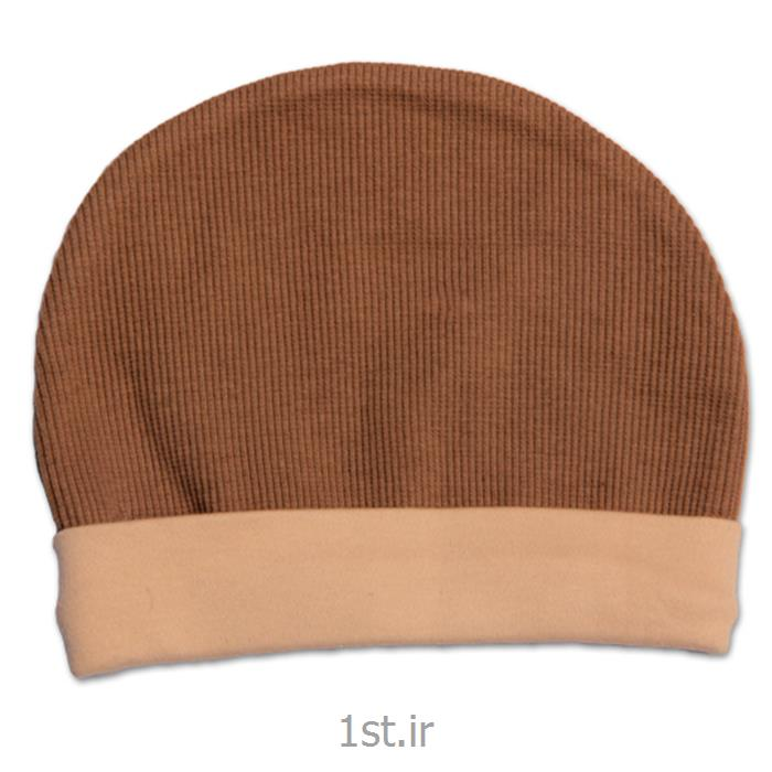 لباس نوزاد نیلی کلاه کشی طرح کوله پشتی