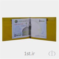 جاکارتی چرمی با یراق نگهدارنده پول مدل 04RS005