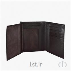 عکس انواع کیف پولکیف جیبی چرمی تک آلبوم مردانه تیرداد مدل 01RF001