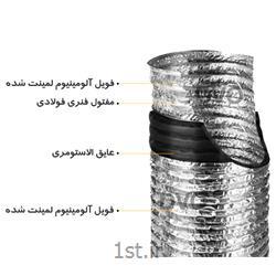 داکت فلکسیبل با عایق الاستومری 4 اینچ
