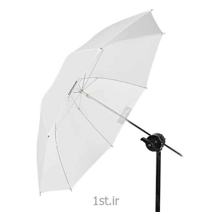 چتر متوسط مسطح نیمه شفاف پروفوتو Profoto umbrella translusent M