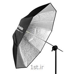 چتر متوسط مسطح نقره ای پروفوتو Profoto umbrella silver M