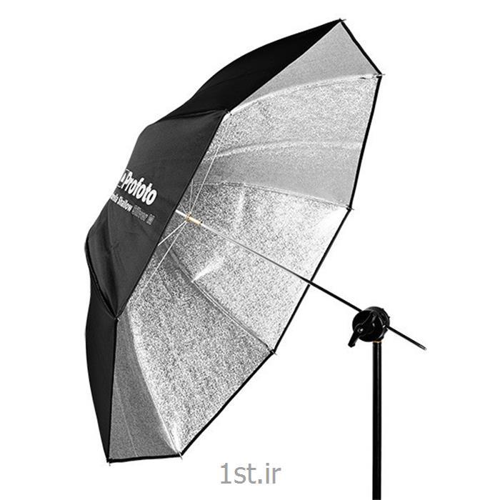عکس سایر لوازم جانبی دوربینچتر متوسط مسطح نقره ای پروفوتو Profoto umbrella silver M