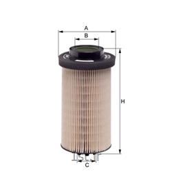 فیلتر گازوییل هنگست بنز اکتروس اکسور HENGST