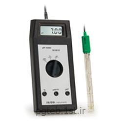 عکس پی اچ متر ( PH Meter )پی اچ متر پرتابل هانا مدل HANNA HI-8010