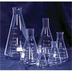 عکس بطری آزمایشگاهیارلن مایر مدرج آزمایشگاهی کمپانی SCHOTT