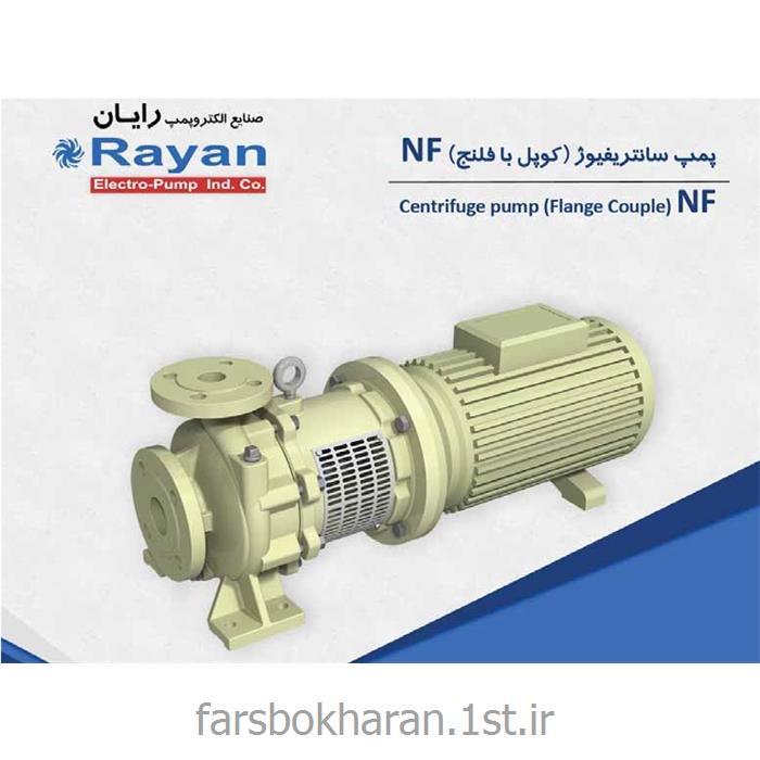الکتروپمپ سانتریفیوژی کوپل با فلنچ رایان مدل NF 100-200 E