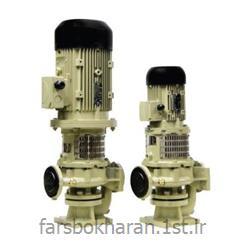 عکس پمپالکتروپمپ کوپل با فلنچ عمودی رایان مدل NFV4 65-160A