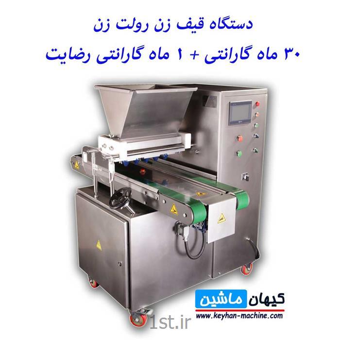عکس سایر ماشین آلات تولید مواد غذاییدستگاه دیپازیتور شیرینی رولت زن قیف زن اتوماتیک