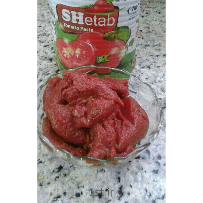 عکس افزودنی های غذاییرب گوجه فرنگی 820 گرمی شتاب