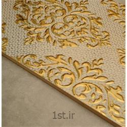 عکس سرامیکسرامیک تک گل کوتینگ مدل النا طلایی 30*60