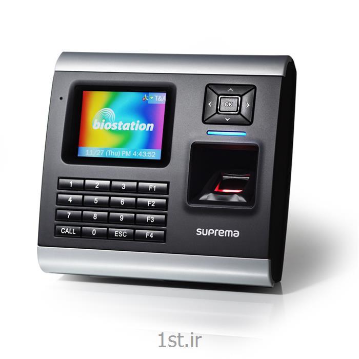 عکس سیستم کنترل ورود و خروج (سیستم حضور و غیاب)دستگاه حضور و غیاب اثرانگشت بایواستیشن Biostation