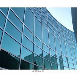 نمای ترکیبی از آلومینیوم و شیشه-کرتین وال