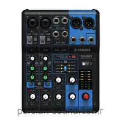 عکس سایر تجهیزات صوتی و تصویریمیکسر 4 کاناله صدا یاماها مدل YAMAHA MG-06