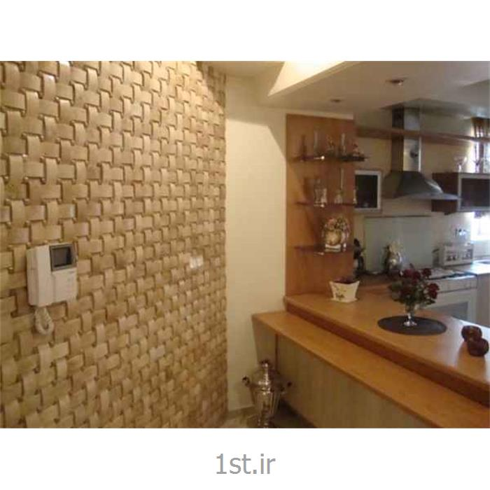 عکس سایر سنگ های طبیعیتزیین دیوار اتاق پذیرایی مدرن با سنگ های آنتیک C150