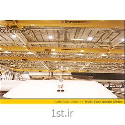 عکس قطعات تجهیزات جابجایی موادجرثقیل سقفی تک پل آویز
