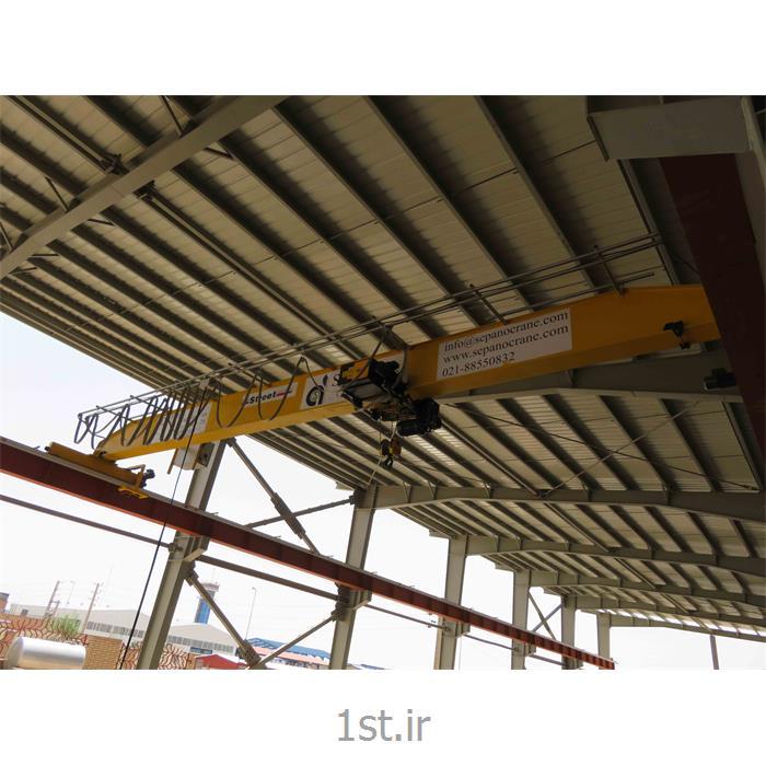 عکس دستگاه وینچ (جرثقیل دستی)جرثقیل سقفی تک پل رو نشین