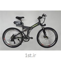 عکس دوچرخه برقیدوچرخه برقی تاشو تنه آلومینیوم کمکدار