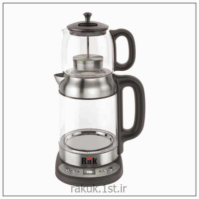 چای ساز شیشه ای استیل راک RAK-TM3090