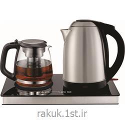 چای ساز دو قلو استیل مشکی راک RAK-TM3040S