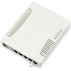 عکس سوئیچ شبکهسوییچ شبکه میکروتیک مدل RB260GS